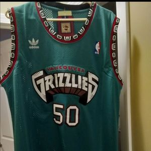 Vancouver Grizzlies Bryant Reeves Jersey